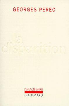 Georges Perec - La Disparition