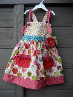 ideia para avental infantil