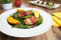 Prosciutto Wrapped Chicken Salad With Pesto Vinaigrette | Living Loving Paleo
