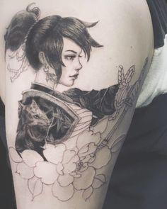 Face Painting Tutorials, Body Art Tattoos, Literary Tattoos, Japanese Tattoo Symbols, Color Tattoo, Optical Illusion Tattoo, Ink Tattoo, Popular Tattoos, Japanese Tattoo