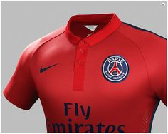 PSG Red football shirt