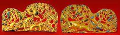 Pair of Belt Buckles Boar Hunt Ermitage Museum  Sakae Culture  (scythian)  5th-4th century BC