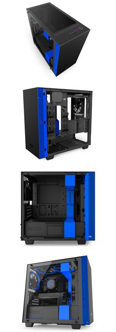 ATX Electric Magic Creative Personality DIY Chassis Bracket Open Chassis ATX//MATX//ITX Vertical Computer Game Chassis Rack Water-Cooled PC Test Bench All Blue