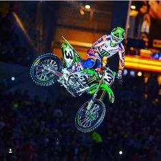 """""""2018 MONSTER ENERGY SUPERCROSS SERIES"""" After a Record-breaking season Feld Motorsports has announced the 2018 Monster Energy Supercross Series Schedule that brings back three rounds returning to the seventeen stop tour. Starting the year our on January 6th at Angel stadium the series heads all over the country and adds in Houston Tampa and Foxborough as it makes its way to the finale in Las Vegas on May 5th. @elitomac @instagram  we're RIDA"""