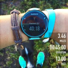 Monday: Easy 30 minutes Ah, it felt so good outside on Monday! It was kinda hard to keep things easy because I felt really good and the cooler weather makes me want to run harder. :) Tuesday: Inter…