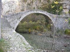"""Το πέτρινο γεφύρι του """"Νούτσου"""" ή """"Κόκκορου"""" ."""