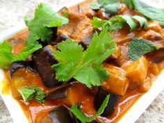 Curry d'aubergines - La Tendresse En Cuisine