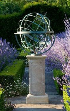 Amazoncom Large 24 Iron Arrow Armillary Sphere gardening