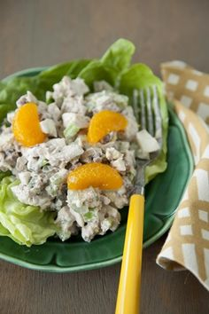 Check out what I found on the Paula Deen Network! Nutty Orange Chicken Salad http://www.pauladeen.com/recipes/recipe_view/nutty_orange_chicken_salad