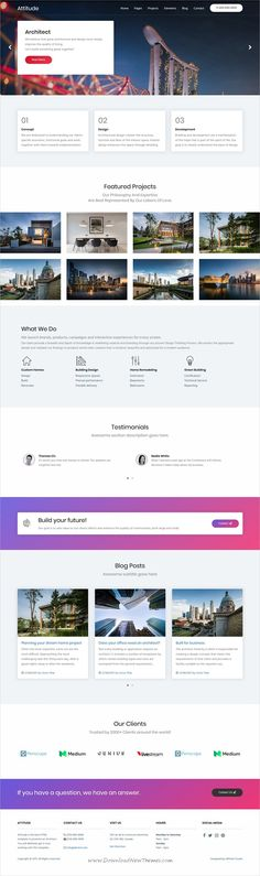 Attitude - HTML Template Based On Foundation Zurb Attitude