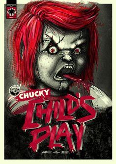 Chucky ~ Mes del Horror // Kanniz Lab by JKR , via Behance