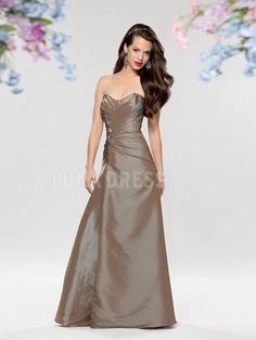 Floor Length Princess Taffeta Scoop Cheap Bridesmaid Gowns With Ruching   bridesmaiddress Taffeta Bridesmaid Dress da9629849f2a