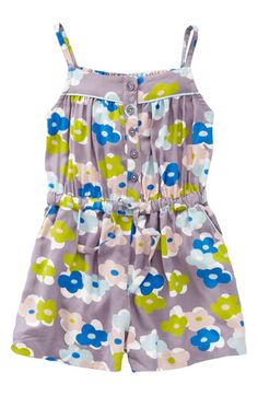Mini Boden 'Pretty Playsuit' Romper  Omg Niah would look so cute in this
