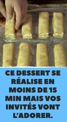 This dessert is made in less than 15 min but your guests will love it faciles gourmet de cocina de postres faciles pasta saludables vegetarianas Apple Desserts, Fall Desserts, Mini Desserts, Tapas, Apple Cinnamon Rolls, Cake Recipes, Dessert Recipes, Ice Cream Recipes, Brunch