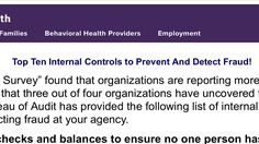 Top Ten Internal Controls to Prevent And Detect Fraud! Accounting Process, Forensic Accounting, Internal Control, Top Ten, Behavior, School, Behance, Manners