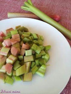 Zdravá máma: Rebarborový sirup Celery, Preserves, Asparagus, Food And Drink, Smoothie, Vegetables, Drinks, Karma, Recipes