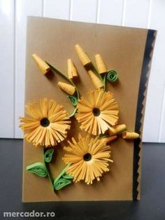 handmade quilling picture