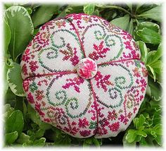 "Pincushion. From a French Designer ""Liselotte"""