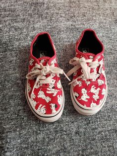 f81fe8adb3 101 Dalmatians Van Sneakers Unisex Size 13 #fashion #clothing #shoes  #accessories #