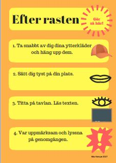 Skapa lugn efter rasten - Mia Kempe Classroom Activities, Classroom Decor, Activities For Kids, Middle School, Back To School, Learn Swedish, Swedish Language, Teaching Quotes, Montessori Materials