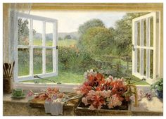 A Sink Full Of Sweet Peas Stephen Darbishire