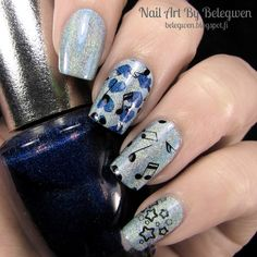 Nail Art by Belegwen: Make Up Store Siw and OPI DS Fantasy