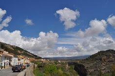 Aspecto del cielo hoy en Alpuente (#Valencia), foto de Susana Albir. #tiempoCV