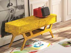 Meuble TV. Mod. TWIGGY1301 Twiggy, Decoration, Design, Furniture, Home Decor, Drawers, Trays, Tv Unit Furniture, Oak Tree