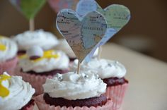 Travel some more with our cupcakes!