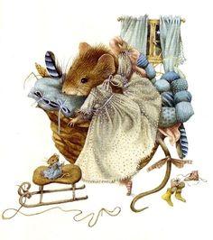 *    Vera The Mouse Artist Marjolein Bastin