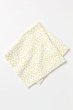 dotted napkin from anthropologie