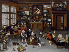 www.cromacultura.com631 × 480Buscar por imagen Jan Brueghel el Viejo, Los Archiduques Alberto e Isabella visitando un Gabinete de Curiosidades.