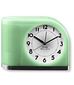moonbeam clock - glows to wake you up - classic design