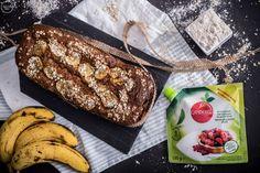 Κέικ μπανάνας χωρίς ζάχαρη (Banana bread) - madameginger.com French Toast, Sweets, Sugar, Bread, Dinner, Breakfast, Food, Image, Dining