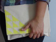 bez çanta, el çantası, kendin yap, DIY, clutch