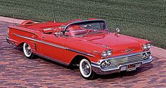 '58 Impala. Would love to drive Route 66 in this one!