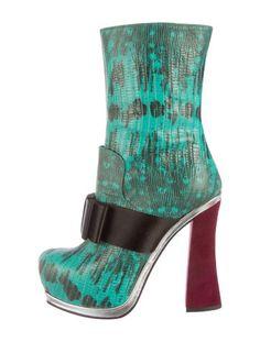 Mm6 Maison Margiela Embossed Motifs Boots - Multicolour 7FUQlw