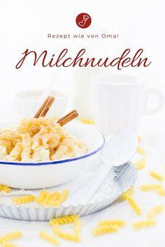 Milch Rezepte, Nudel Rezepte: Rezept für Milchnudeln wie von