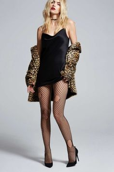 Love, Courtney by Nasty Gal Malibu Satin Slip Dress - Black - Clothes | Valentine's Day | Nasty Gal X Courtney Love | Valentine's Day | Rules To Slip By | LBD | Sleep | Dresses | Lingerie