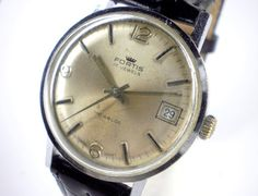 Vintage Fortis Swiss mechanical watch by WatchForLife on Etsy, $49.00