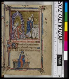 A queen praying - Book of Hours, Use of Sarum ('The Taymouth Hours'), 2nd quarter of the 14th century