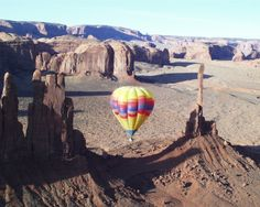 Hot Air Ballooning in Monument Valley, Arizona