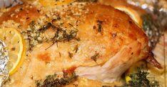 Fabulosa receta para Pavo ahumado cítrico con hierbas. Éste es un pavo con un sabor muy elegante que te hará quedar como profesional!!! busca la receta del acompañamiento ideal para este pavo tipo relleno!