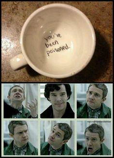 Sherlock memy Memes for Sherlock fans and the rest of the fucking gang # Humor # amreading # books # wattpad Sherlock Meme, Benedict Sherlock, Sherlock John, Benedict Cumberbatch Sherlock, Sherlock Quotes, Jim Moriarty, Watson Sherlock, Sherlock Holmes Funny, Detective