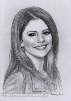 Image result for fan art pencil selena