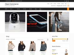 Clean Commerce //  Clean Commerce is a simple yet modern e-commerce WordPress theme. It is esthetically minimalist fresh-faced and bright elegantly styled and well developed readily responsive e-commerce WordPress theme. It is a perfect theme for commercial endeavors of all kinds from digital download shops to online commercial retail of all kinds. It integrates the industry standard WooCommerce e-commerce plugin a wonderful solution for all your online commerce...    #WordPress #themes…