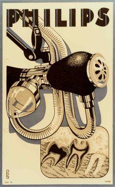 "Philips ""Metalix"" dental X-ray tube advert from 1928 | #retro #vintage"