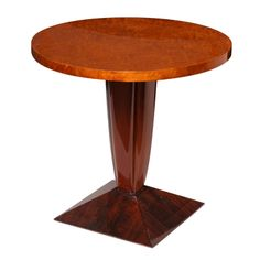 Art Deco Side Table by DIM (René Joubert and Philippe Petit)