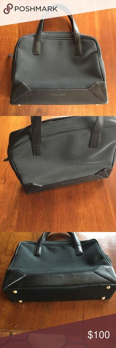 Cole Haan black handbag. So adorable, excellent condition, designer bag! Cole Haan Bags Shoulder Bags