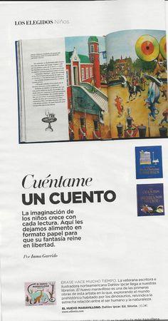"""""""El huevo maravilloso"""" en el suplemento de El País, Shopping & Style. 22/12/15"""